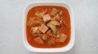 신김치 요리 고추참치스팸김치찌개 만들기!