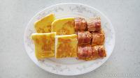 베이컨소세지말이 계란토스트 간단 브런치 만들기!