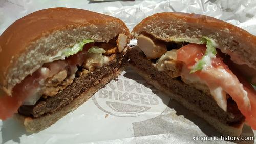 버거킹 신메뉴 리치테이스트 스테이크 세트 맛후기!