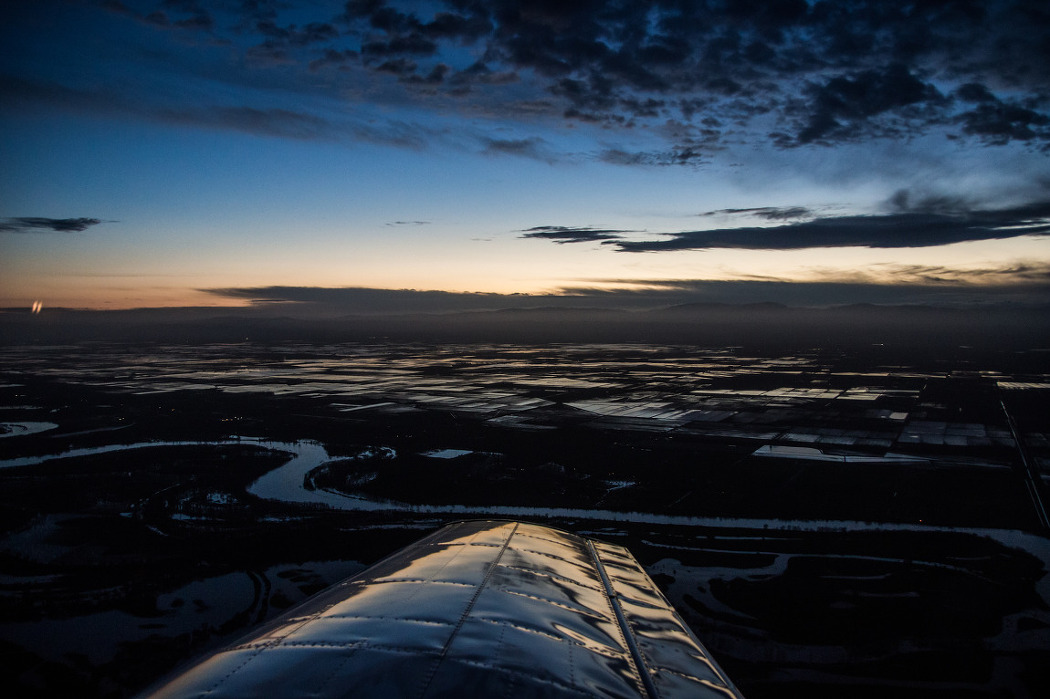 flight to Redding (KSCK-KRDD)