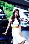 [서울 모터쇼-르노삼성] 레이싱모델 임민영, 화사한 봄 처녀 분위기 물씬
