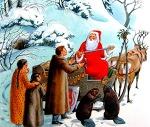 예지에게 산타클로스의 정체를 고백하다