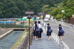 일본의 여름을 걷다. 교토 아라시야마, 치쿠린, 도게츠교