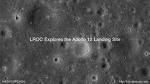 Apollo 12호의 착륙지 탐험 동영상