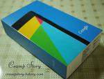 넥서스7 2013 Wifi (뉴넥서스7, 넥서스7 2세대) 사양과 개봉기