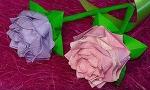 종이접기 꽃 장미 3