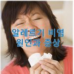 알레르기 비염의 원인과 증상, 예방 및 치료방법