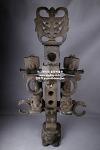 (1) 홍산문화 석 합체형 (여)  -여기저기 세월의 흔적들이 상당히 많이보임, 자석붙음 (합체높이 105cm, 합체무게 약 35kg)