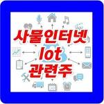 사물인터넷 lot 관련주 및 대장주 종목 총정리!