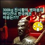 300kg의 진시황의 병마용이 바다건너 한국으로 온 까닭은?
