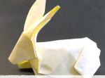 어려운 종이접기 토끼