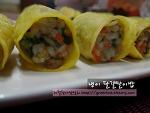 간단하고 맛있는 늦겨울 별미밥,냉이달걀말이밥~