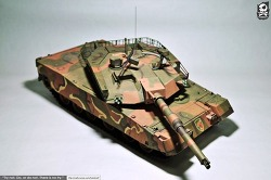 [종이모형] K1A1 Main Battle Tank 1:25 made by Romantic Bear (낭만곰탱)
