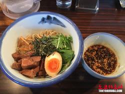 [하라주쿠 맛집/도쿄 맛집] 여성에게 인기인 깔끔한 일본 라멘 - 아후리 쯔케멘