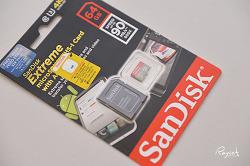 4K 영상 촬영을 위한 microSD 샌디스크 익스트림 64GB