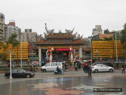[아저씨 혼자 대만여행] 용산사(룽산스, 龍山寺)와 장기 구경