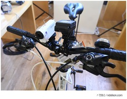 자전거덕후가 본 소니4K 광학식 손떨방 BOSS 액션캠 FDR-X3000 현장인터뷰
