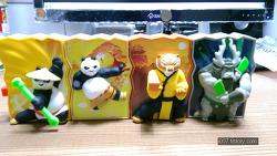 2016년 2월 맥도날드 해피밀 장난감 쿵푸 펜더3 시네마 (McDonald's Happy Meal Toy KUNG FU PANDA 3 ONLY IN CINEMAS)