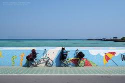 [브롬톤 자전거 여행] 몹쓸 욕망의 제주 #02 함덕/ 김녕/ 월정리 해변/ 하도해수욕장