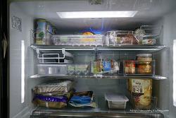 냉장고 정리용품 코스트코 냉장고트레이 써보니