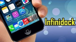 InfiniDock - 아이폰 하단독의 앱 갯수를 늘려주고 좌우로 스크롤 할 수 있는 시디아 트윅 [iOS 9.3.3]