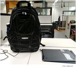 회사원 노트북 백팩 가방 추천, 수납의 정석 에버키 EKP133