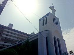 밀양 수산성당 부활절 세례
