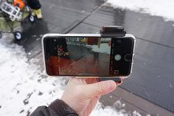 스마트폰 핸드그립 블루투스 리모컨 JOBY GripTight POV Kit