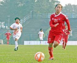 네팔 여자축구대표팀, '부탄왕국'과 '몰디브' 대파