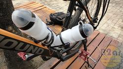 자전거에 물통거치대 2개 설치하는 방법