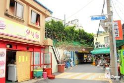 부산여행: 부산진구에서 추억길을 따라 걸어보자 - 부암동 굴다리, 진양고무 황금신발, 영광도서, LG사이언스홀