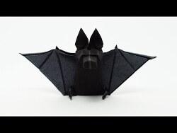 박쥐 종이접기 동영상