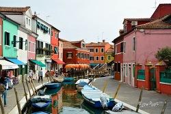 부라노섬 알록달록 파스텔톤의 예쁜 섬 -베네치아여행 Burano Venezia