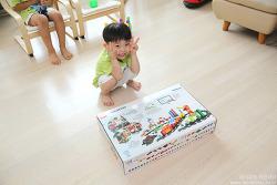 웅진북클럽 레고 에듀케이션 유아교구로 최고에요~ 놀이학습 레고 신나는 수학기차