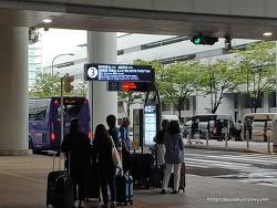 간사이 공항에서 와카야마 버스타고 가는 길