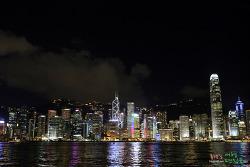 홍콩 여행〃세계적인 야경관람, 스타의 거리에서 심포니 오브 라이트를!