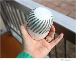 360도로 사운드를 즐기는 휴대용 인테리어 스피커, LG전자 공중부양스피커 PJ9