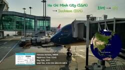 [170515] 호치민-인천 (SGN-ICN), 베트남항공 (VN408), A350 탑승기