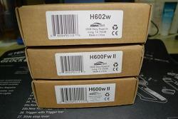 Zebralight H600w Mk2 vs. H600Fw Mk2 vs. H602w simple comparison review