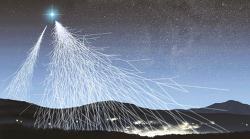 암흑물질로부터 온 것일 수도 있는 여분의 양전자 VIDEO: Antimatter Particles Are Crashing into Earth, And Scientists Don't Know Why