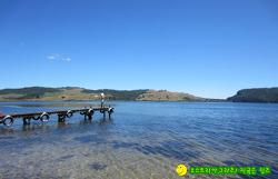 뉴질랜드 길 위의 생활기 833-우리가 처음만난 사유지 캠핑장 , Lake Rotoma 로토마 호수