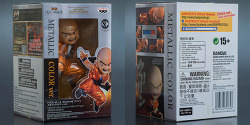 banpresto dragon ball z scultures krillin metallic color overseas ltd ver. / 반프레스토 드래곤볼 조형왕 크리링 메탈 컬러 버전