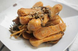 총각무지짐,묵은지총각김치 맛잇게 먹기