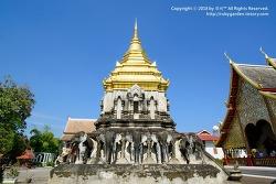태국 치앙마이 여행 / 치앙마이에서 가장 오래 된 사원 '왓 치앙 만'