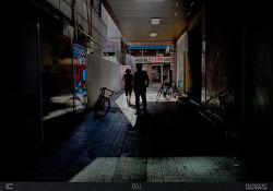 서울시양천구신정동 / 재개발 / 골목시장 / 빛과그림자