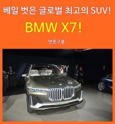 베일 벗은 글로벌 최고의 SUV! BMW X7 iPerformance
