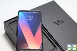 LG v30 오로라블랙 디자인, 스마트폰 디자인의 트렌드를 말하다
