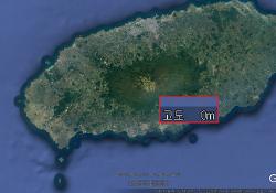 구글 어스 (Google earth)에서 고도가 0m로 표시 될 때
