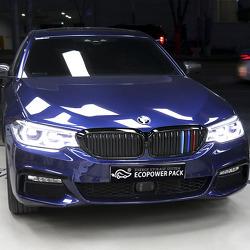 블랙박스 보조배터리 에코파워팩을 선택한 BMW530i