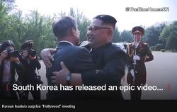 문재인 김정은 2차 정상회담, 무슨 이야기를 했을까? Korean Leaders Surprise Hollywood Meeting